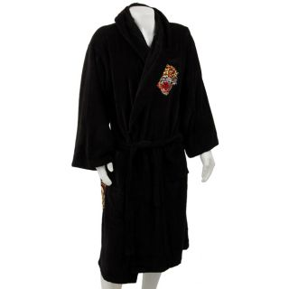Ed Hardy Mens Love Dies Slowly Embroidered Robe