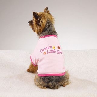 Daddys Little Girl Dogs Cotton T shirt