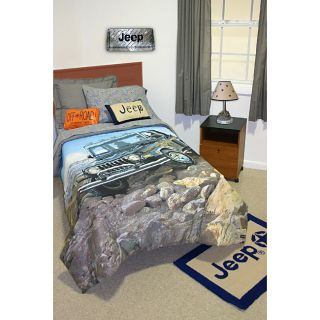 Jeep Off Road Twin size Bedding Ensemble