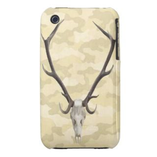 Deer Skull Camouflage iPhone 3G/3GS Case iPhone 3 Case Mate Case