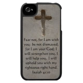 Christian Quotes iPhone Cases, Christian Quotes iPhone 5, 4 & 3 Case