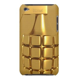 Golden Hand Grenade iPod Case Mate Case