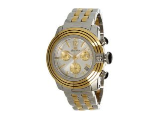 Glam Rock Lady SoBe 40mm Two tone Gold Plated Chronograph Watch