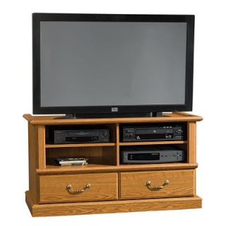 Sauder Entertainment Credenza   Oak