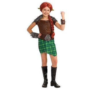 Shrek Deluxe Fiona Warrior Costume