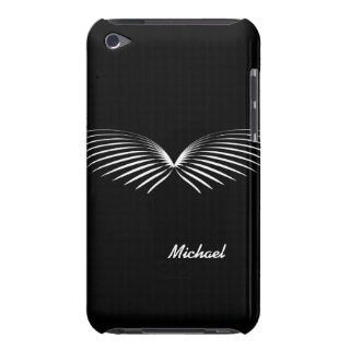 Funny Mustache Wings iPod Case iPod Touch Case