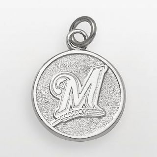 Milwaukee Brewers Sterling Silver Logo Charm