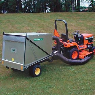 Trailer Vac — 50 Cubic Ft. Capacity, Model# 7950  Lawn Sweepers