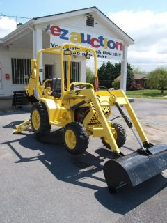 2005 Terramite T5C Loader Backhoe Low Hours Honda Engine Nice