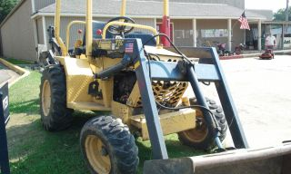 Terramite T5C Backhoe 2008 Freshly Rebuilt Engine 1 4 YD Loader 16
