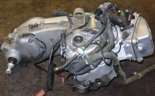 2009 Piaggio Beverly BV500 500 CC Engine Motor Transmission Assembly