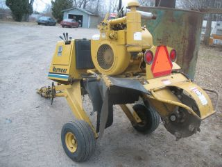 vermeer stump grinder 630B 4 cylinder wisonsin engine low hr chipper