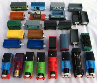 Big Lot of 27 Thomas The Tank Engine Trackmaster Tomy Trains Hiro Lady