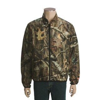 Browning AddHeat Camo Jacket   Soft Shell (For Big Men) in Mossy Oak
