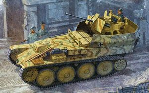 Flakpanzer 38(t) Sd.Kfz.140 Auf (Sf) Ausf.L Gepard, Dragon/DML Smart