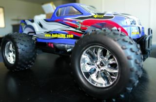 New BSD 2 Speed RC Nitro Powered Car 4x4 Truck 1 10 RTR