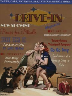 DRIVE IN MAGAZINE #2 PIN UP HOT ROD RAT ROCKABILLY FASHION VTG STYLE