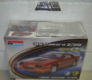 Monogram Model Kit 4015 1 24 1985 Camaro Z28 gms Customs Hobby Outlet