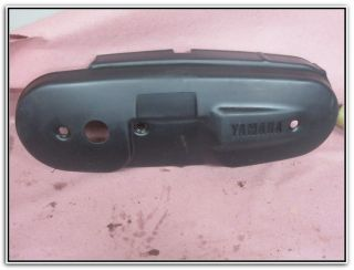 2004 04 Yamaha YW50 YW 50 50cc Zuma Plastic Engine Cover 3 Clutch Side
