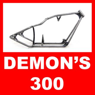 New 300 Wide Custom Pro Street Rigid Chopper Frame for Harley