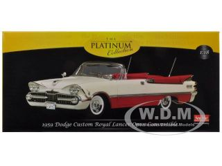 Brand new 118 scale diecast model of 1959 Dodge Custom Royal Lancer