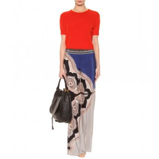 Etro   SILK PALAZZO TROUSERS   Luxury Fashion for