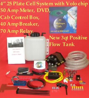 Worlds Best HHO 4 31 Plate (100psi tested) Dry Cell Generator system