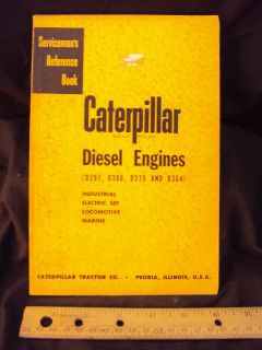 1953 Cat Caterpillar D397 Diesel Engine Service Manual
