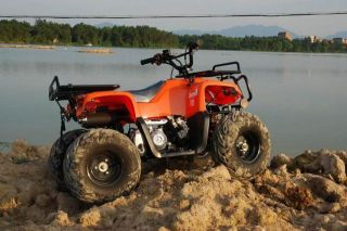 Giovanni 110cc ATV 4 Stroke Mini Hummer Gio Orange