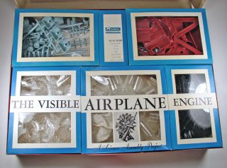 Visable 1 4 Scale Wasp AIRPLANE Engine Model Kit in Original Box