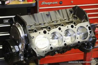 Big Block Chevy Engines 496CI Pro Street Assembled Short Block Built