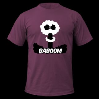 Baboom mushroom cloud   the consequences of nuclear policy T Shirt