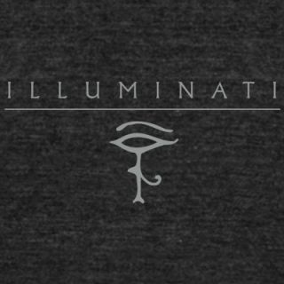 illuminati + Eye of Horus T Shirts