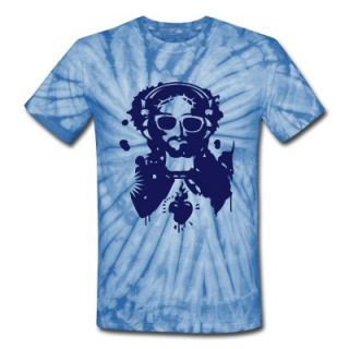 Jesus Graffiti with headphones and sunglasses T Shirt